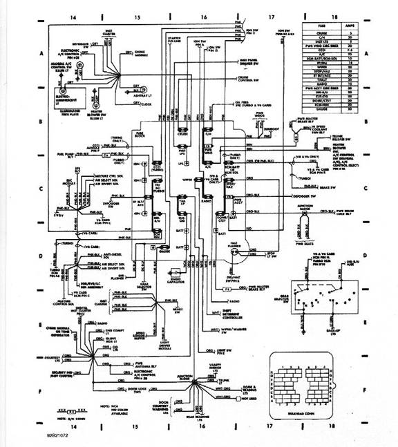 converting a gm fwd wiring harness rh dave h body org GMC PCM Pinout Diagram 85 Camaro Fuel Diagram