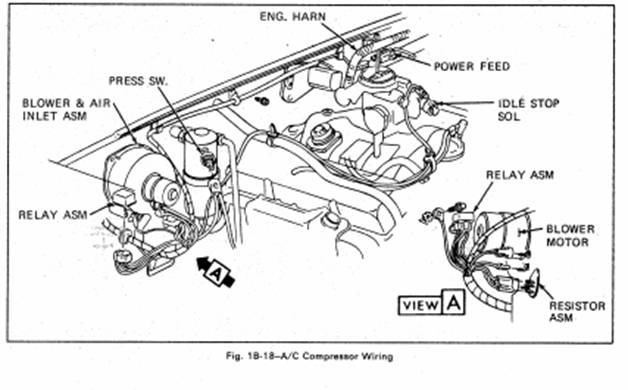 h body a c made easy once the firewall and blower plenum were modified i mounted the blower case first then fitted the heater and a c core case as an assembly into the opening