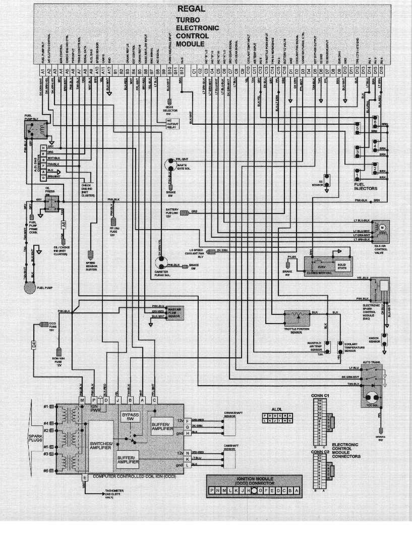 Turbo Buick Wiring Diagram Bookmark About Regal Hot Air Sfi Rh Dave H Body Org Stereo
